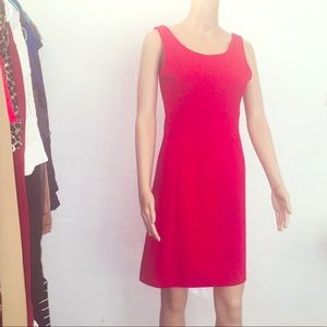 Red Sexy Cotton Dress Size XS